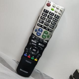 SHARP - シャープ AQUOS テレビリモコン GA835WJSA