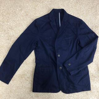 美品★GU メンズジャケット 紺(テーラードジャケット)