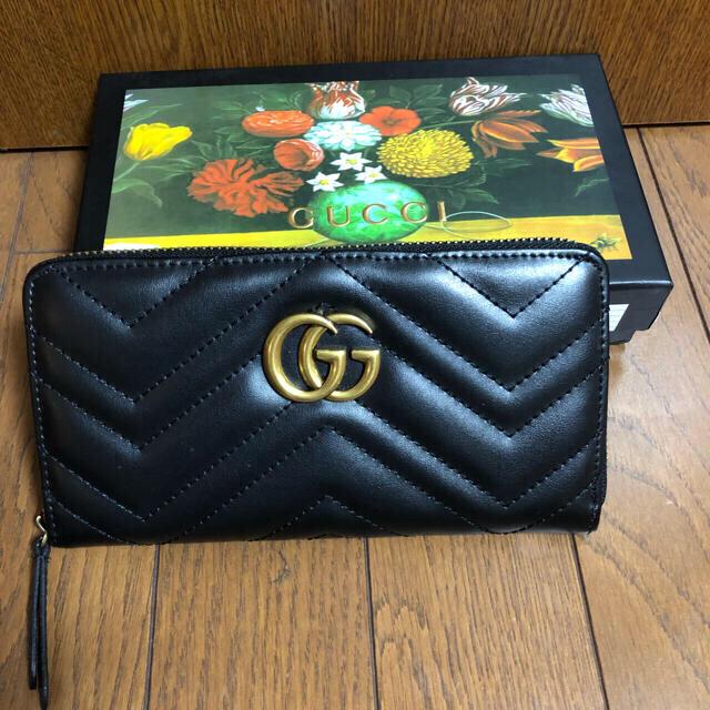 Gucci - GUCCI   GGマーモント キルティングレザー長財布の通販 by よーちん's shop