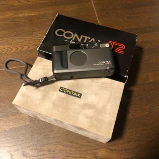 キョウセラ(京セラ)のCONTAX T2 Carl Zeiss Sonnar 38/2.8(フィルムカメラ)