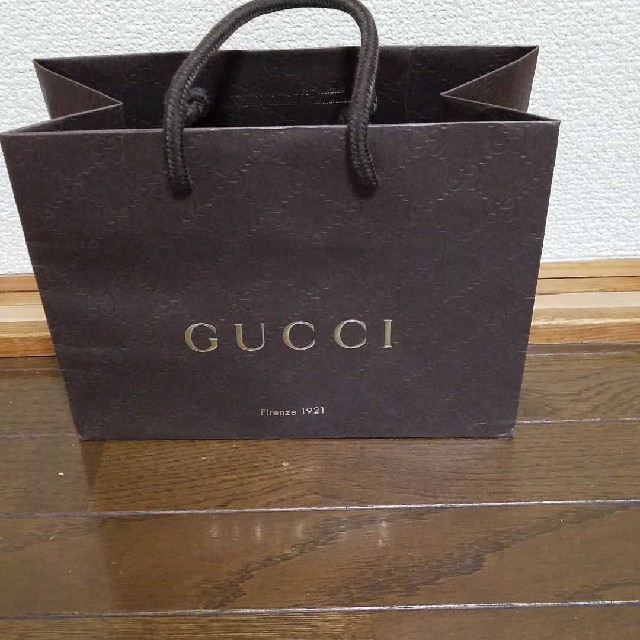 Gucci - GUCCI 紙袋 11×23×17㎝  の通販 by つがーるリンゴ's shop