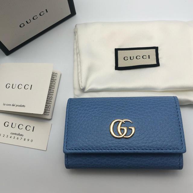 Gucci - 【新品】GUCCI グッチ キーケース カードケース カーリングの通販 by @ami