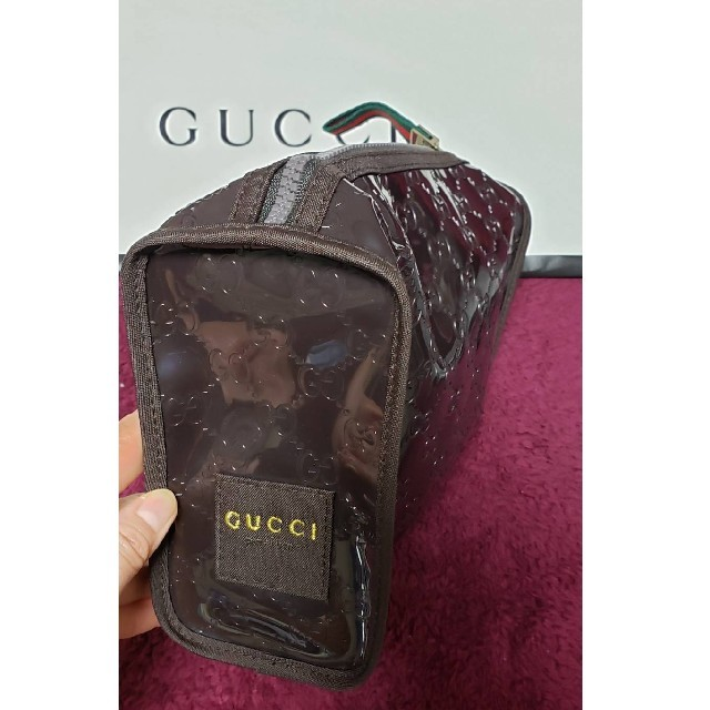 Gucci - GUCCIグッチ 新品!未開封!非売品!ビニールポーチの通販 by ベジタリまん's shop