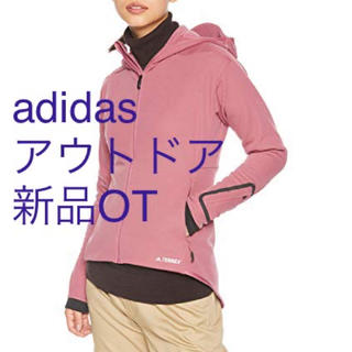 アディダス(adidas)の新品OT 【アディダス]】アウトドアウェア CLIMAHEAT パーカー(登山用品)