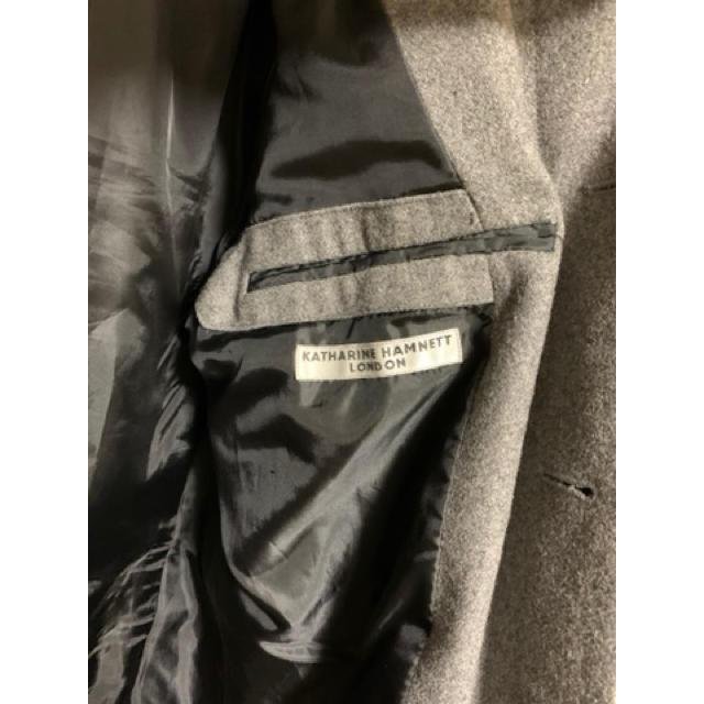 KATHARINE HAMNETT(キャサリンハムネット)のキャサリンハムネット チェスターコート メンズのジャケット/アウター(チェスターコート)の商品写真