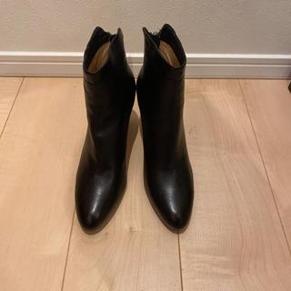 ペリーコ(PELLICO)のペリーコ ショートブーツ  ブラック 38(ブーツ)