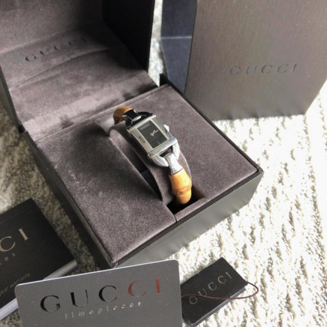 Gucci - 【GUCCI】腕時計の通販 by miu's shop