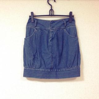 ローリーズファーム(LOWRYS FARM)のローリーズ♡デニムスカート(ミニスカート)