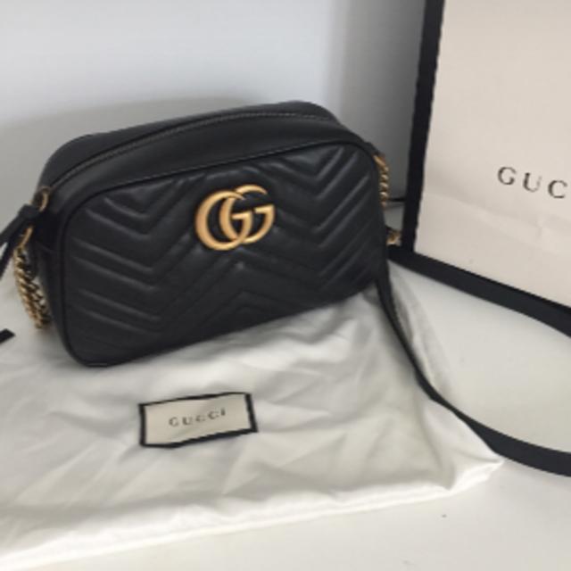 Gucci - GUCCI GGマーモント キルティング ショルダーバッグの通販 by Destiny✩'s shop