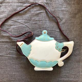 ハコ(haco!)のアリスのお茶会バッグ 未使用 haco ハコ フェリシモ 不思議の国のアリス(ショルダーバッグ)