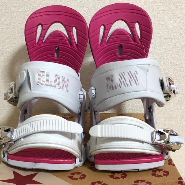 Elan(エラン)のELAN スノーボード バインディング スポーツ/アウトドアのスノーボード(バインディング)の商品写真