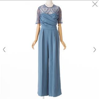 ラグナムーン(LagunaMoon)のラグナムーン  LADYクロスベアパンツドレス(その他ドレス)