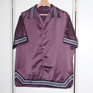 ルイヴィトン(LOUIS VUITTON)のルイヴィトン 18AW ポップアップ限定 ウォームアップ シャツ ジャケット M(Tシャツ/カットソー(半袖/袖なし))
