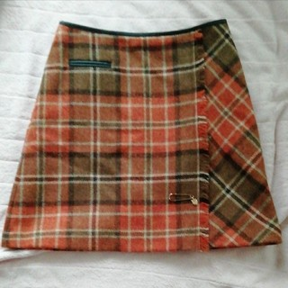 BLUE LABEL CRESTBRIDGE  膝上スカート(ひざ丈スカート)