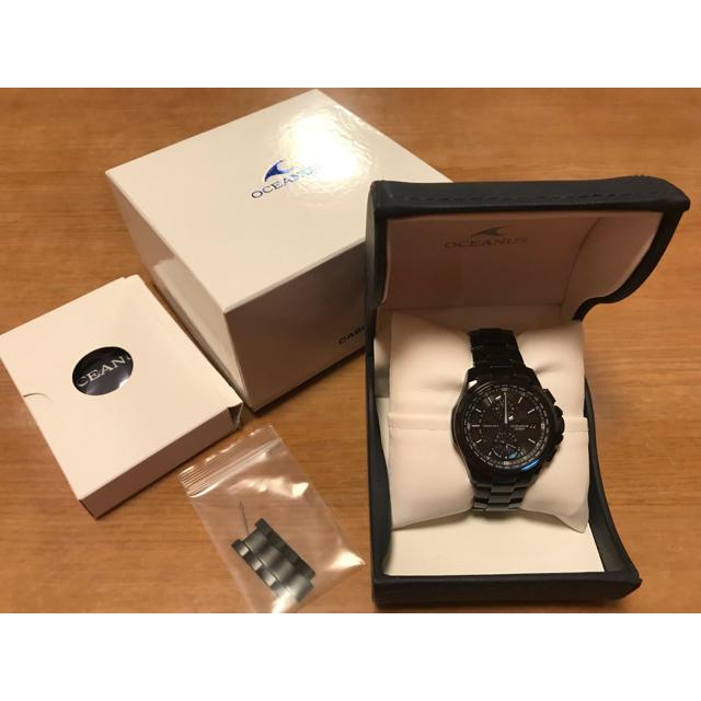 時計 、 CASIO - 【匿名配送】オシアナス クラシックライン ocw-t1000b1ajfの通販 by ふく's shop