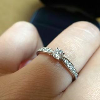 ティファニー(Tiffany & Co.)のティファニー ハーモニー 0.18 Pt950 ダイヤモンド リング 9号 (リング(指輪))