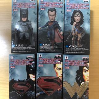 バンプレスト(BANPRESTO)のバットマンvsスーパーマン ジャスティスの誕生 ワールドコレクタブル  6種(アメコミ)