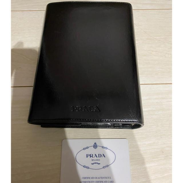 PRADA - プラダ PRADA ブラック システム手帳 正規 メンズ レディス okの通販