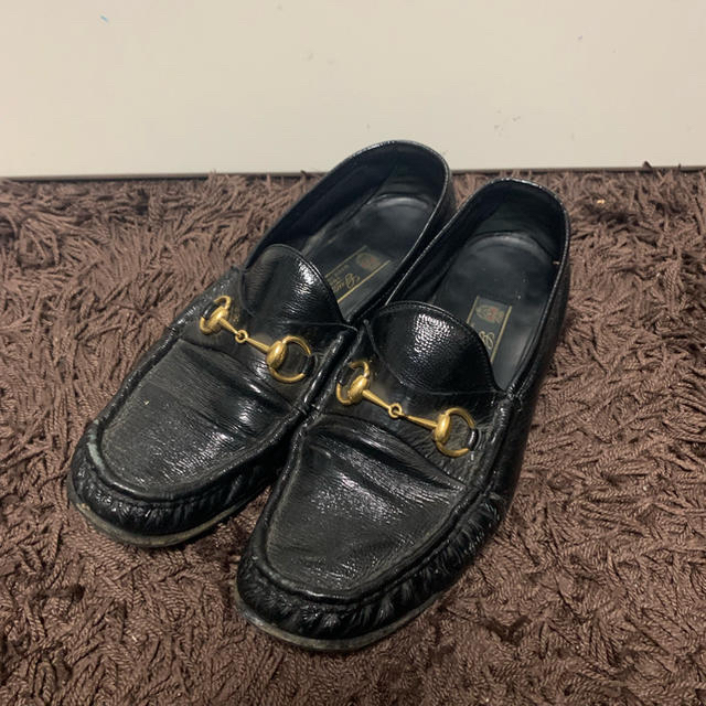 Gucci - GUCCI ローファー エナメル�通販 by �����'s shop