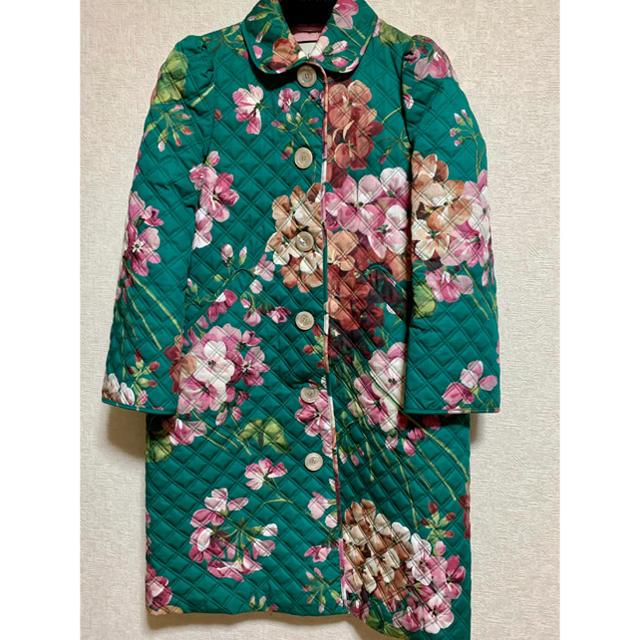 Gucci - ♡期間限定お値下げ●GUCCIグッチblooms緑花柄キルティングコート40の通販 by oshimesama3104's shop