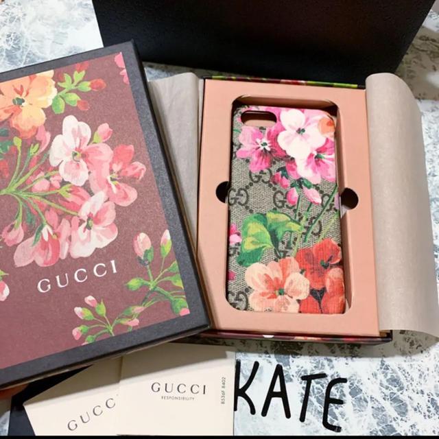 Gucci - 新品未使用 GUCCI フラワー iPhoneケース iPhone 7/8 03の通販