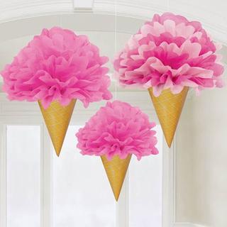 amscan Fluffy Decorations フラッフィデコレーションズ(その他)