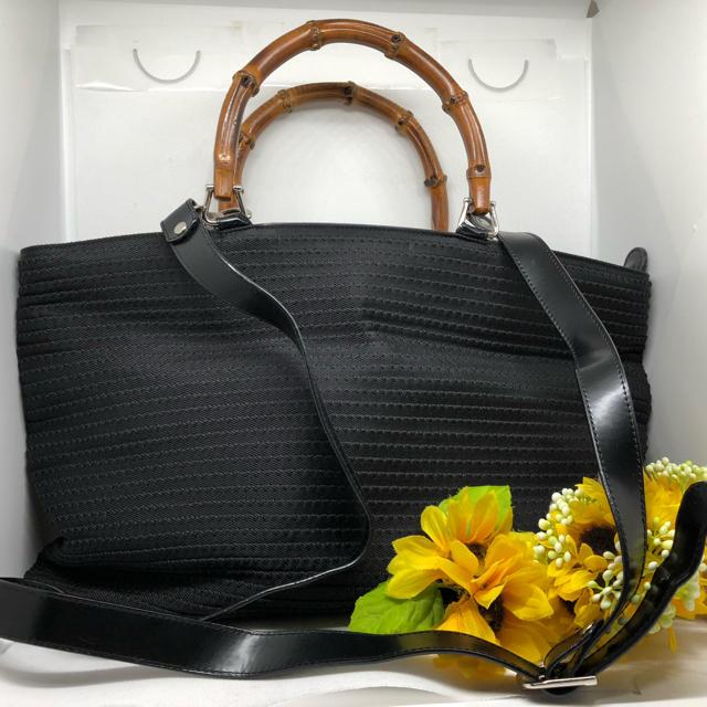Gucci - 【⭐️コスパ⭐️】 グッチ 2way バンブー ショルダーバッグ ハンドバッグの通販 by ❤️クーのお店❤️【フォロワー様割引!】