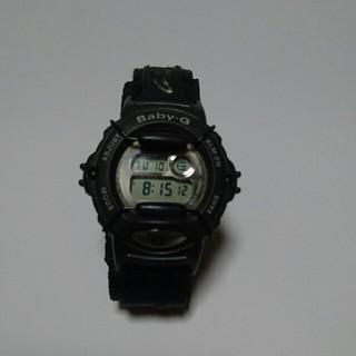 ベビージー(Baby-G)の値下げ中古Baby―G腕時計(ブラック)(腕時計(デジタル))