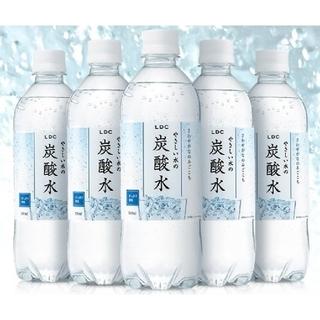 48本国産やさしい水の炭酸水500ml(ミネラルウォーター)
