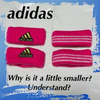 アディダス(adidas)の❇️【adidas】何で付ける必要が...☆⁉️(バングル/リストバンド)