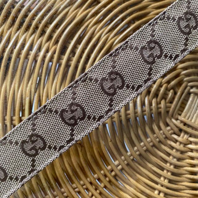 Gucci - 【人気デザイン】 GUCCI   グッチ gg   レザー ベルト イタリア製の通販 by ポムs shop
