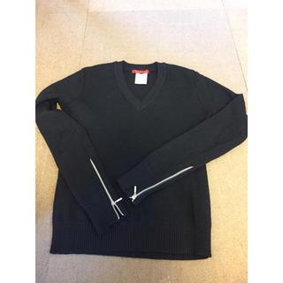 リステア(RESTIR)のリステア   シルエットの綺麗なVのセーター(ニット/セーター)