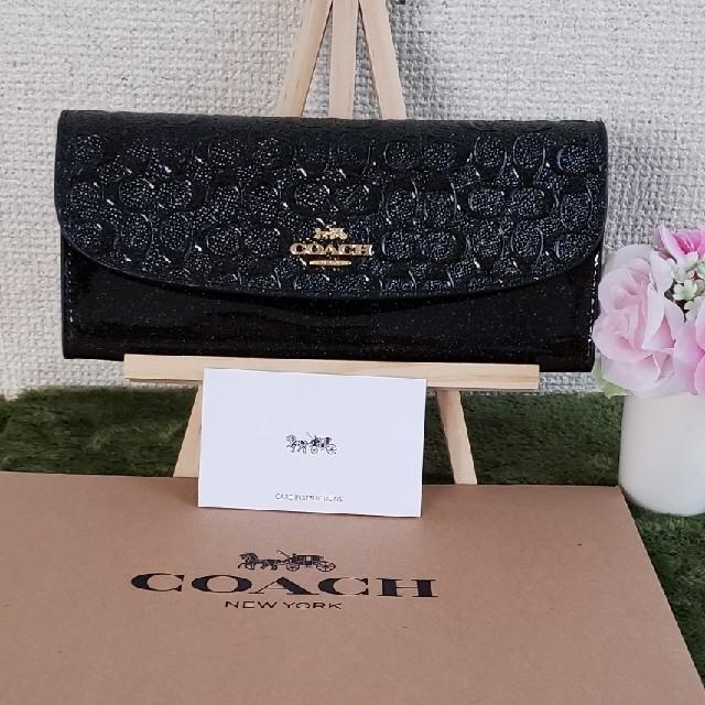 ブレゲ 時計 コピー 女性 | COACH - COACH長財布 IMBLKブラックの通販 by dorasena's shop