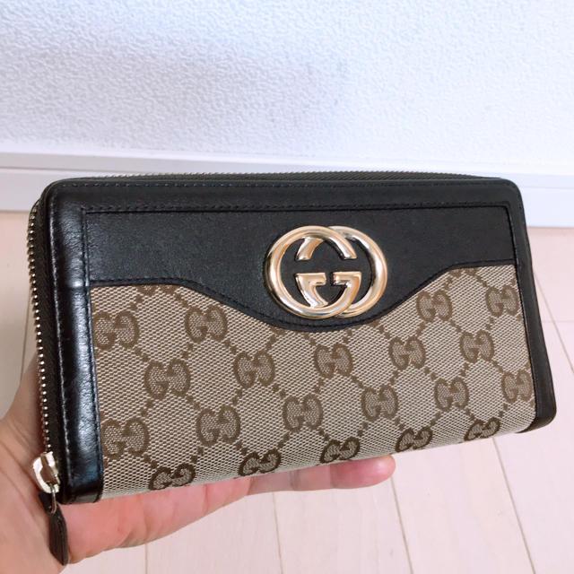 Gucci - 《超美品》GUCCI(グッチ)長財布の通販 by ポルンガ's shop