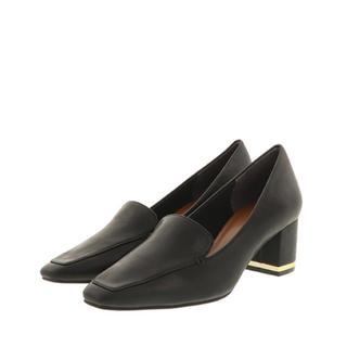 ランダ(RANDA)のメタリックヒールローファーパンプス👠(ローファー/革靴)