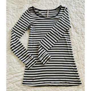 ピーチジョン(PEACH JOHN)のPJ 綿100% ロング丈 長袖Tシャツ S/M(Tシャツ(長袖/七分))