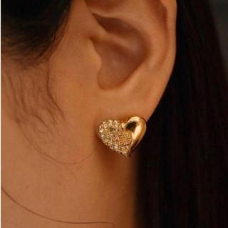 ジバンシィ(GIVENCHY)のGIVENCHY/vintage heart design earring.(イヤリング)
