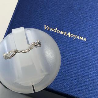ヴァンドームアオヤマ(Vendome Aoyama)の専用      ヴァンドーム VENDONE k18ダイヤモンド リング(リング(指輪))