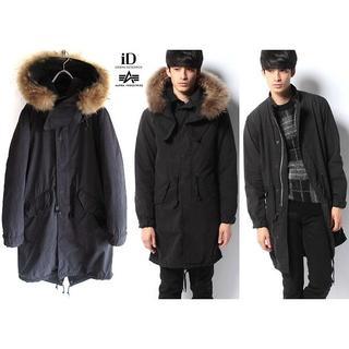 ALPHA INDUSTRIES - 定価46440円 URiD別注 ALPHA M-65 PARKA ブラック S