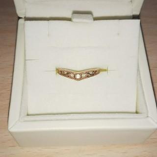 K10リング  ピンクゴールド  華奢リング  可愛い  プレゼント  (リング(指輪))