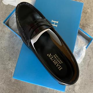 ハルタ(HARUTA)の【新品未使用品】✳HARUTA 黒 ローファー 24.5✳お値下げです❣️(ローファー/革靴)