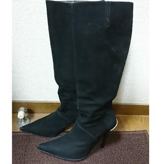 コメックス(COMEX)のCOMEX ロングブーツ スエード 22.5cm(ブーツ)