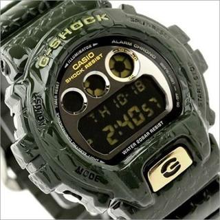 ジーショック(G-SHOCK)の新品 未使用 G-SHOCK DW6900CR-3 腕時計 CASIO グリーン(腕時計(デジタル))