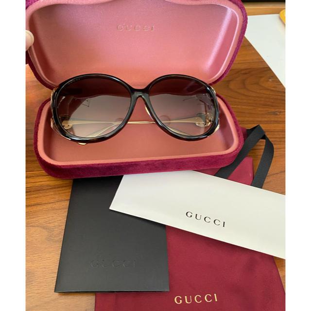 Gucci - グッチ サングラスの通販 by パリス(12.26〜1.2発送不可)