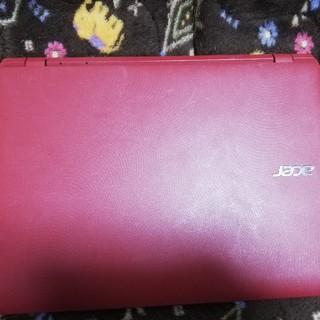 エイサー(Acer)のacer エイサー ノートパソコン レッド(ノートPC)