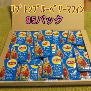 【超特価】リプトン ブルーベリーマフィン 85パック(茶)
