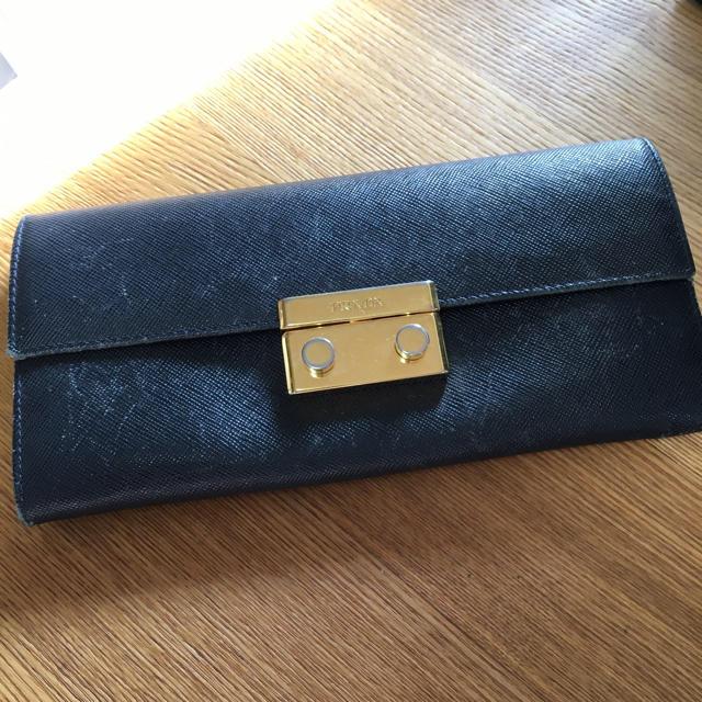 ドゥ グリソゴノ偽物大丈夫 、 PRADA - プラダ ネイビー 長財布の通販 by nana86's shop
