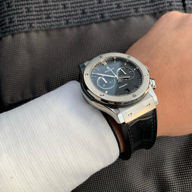 ウブロ 時計 、 HUBLOT - ■HUBLOT クラシックフュージョン■541NX1171LR ウブロ■の通販 by mimi