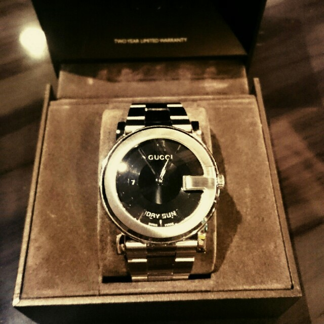 グッチ 長財布 メンズ 激安 amazon 、 Gucci - GUCCI メンズ腕時計の通販 by キャロル925's shop