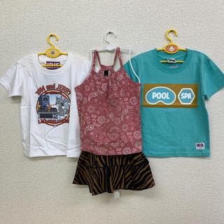 アイリーライフ(IRIE LIFE)の◆新品未使用◆irie life子供用Tシャツ110サイズ2枚ほか4点セット(Tシャツ/カットソー)